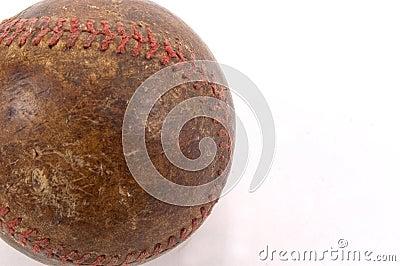 Particolare anziano di baseball