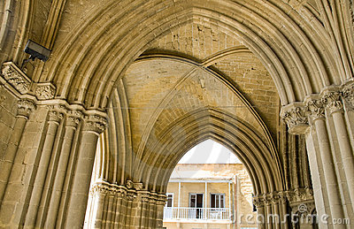 Particolare Lefkosia Cipro dell arco della moschea