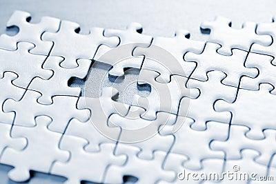 Partie manquante de puzzle