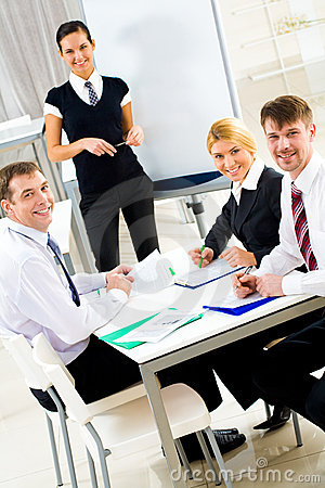 Partners At Work Royalty Free Stock Photo - Image: 8661455