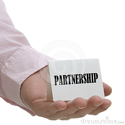 Partnership - sign series