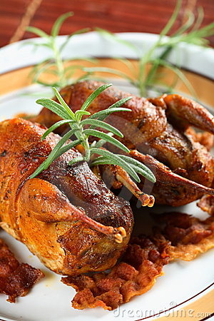 Free Partridge Meat Royalty Free Stock Photography - 2123337
