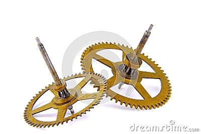 Parts of clockwork