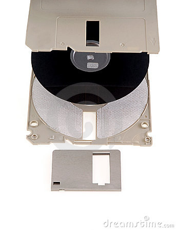 Parts of computer floppy disk