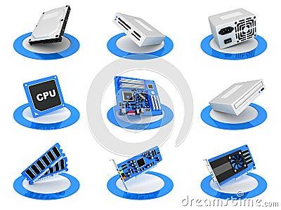 Parts computer icon