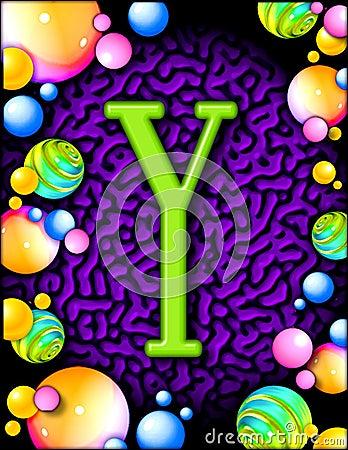 Party alphabet - Y