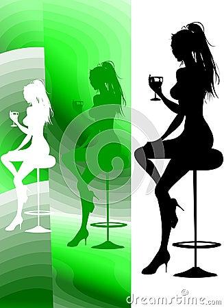 Party-Aufenthaltsraum-Cocktail