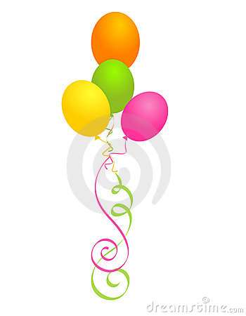 Free Party Balloons Stock Photography - 12202212