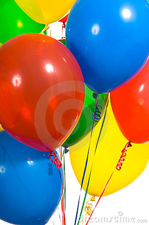 Free Party Balloons Royalty Free Stock Photos - 3501338