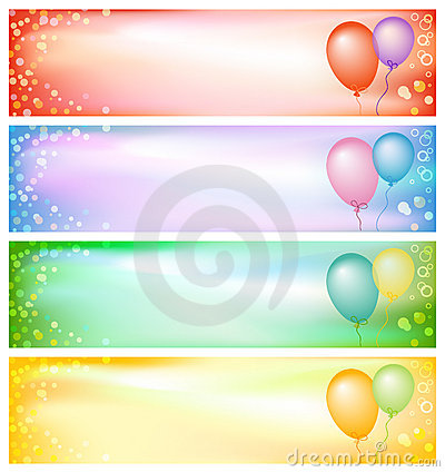 Party banners