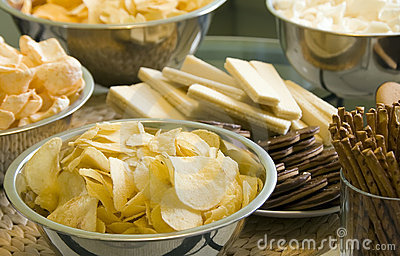 Party chips and crisps