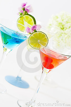 Free Party Cocktails Stock Images - 10211974