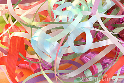 Party decoration ribbons