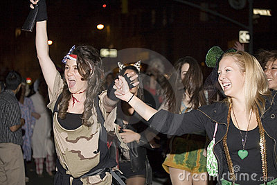 Party Event in New York City Editorial Stock Image