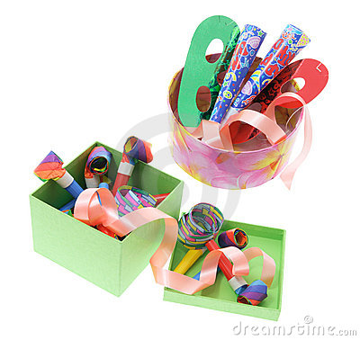 Party Favors in Boxes