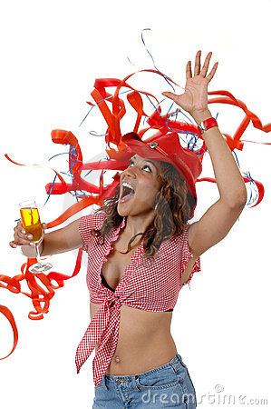 Free Party Girl Stock Photography - 1488972