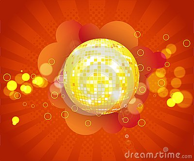 Party/ music/ disco background for music event des