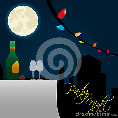 Free Party Night Royalty Free Stock Photos - 31865478