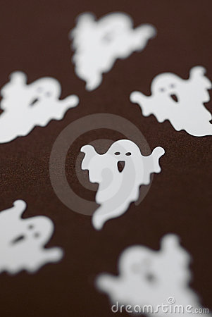 Free Party Of Ghosts Stock Photography - 11534802