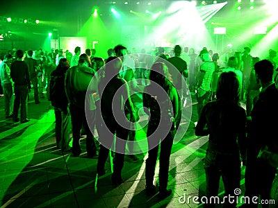 Party people Εκδοτική Στοκ Εικόνες