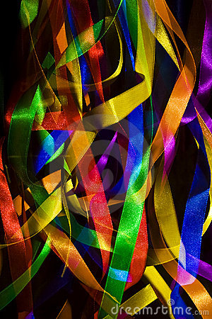 Free Party Ribbons Stock Photography - 9065042