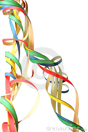 Free Party Streamers Stock Photo - 1341920
