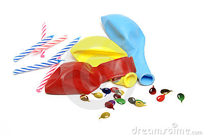 Party Supplies Stock Image - Image: 21137831