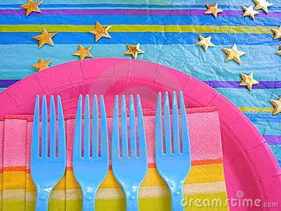 Party Table Setup