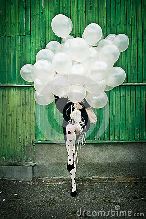 Party time, balloons