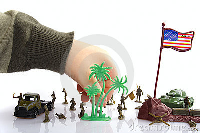 Party toy soldiers