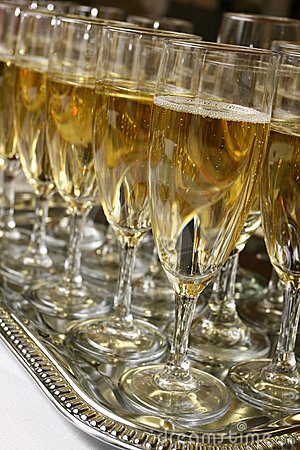 Free Party With Sparkling Wine Stock Image - 3625021