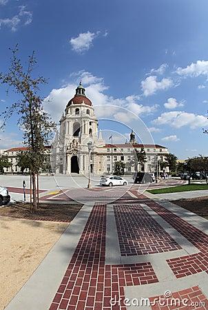 Pasadena City Hall Editorial Stock Image