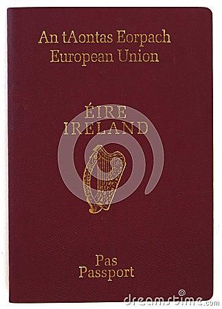 Pasaporte irlandés