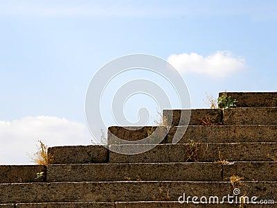 Pasos de progresión de piedra
