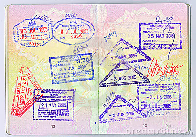 Paspoort aan Azië