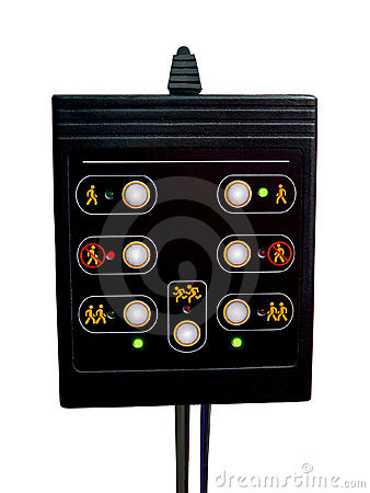 Pass control panel, black, plastic, bank security,