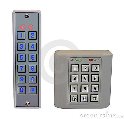 pass control panel, plastic box, home security,