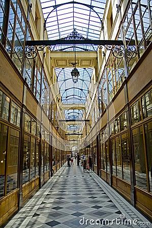 Free Passage Du Grand Cerf In Paris Stock Photo - 3778760