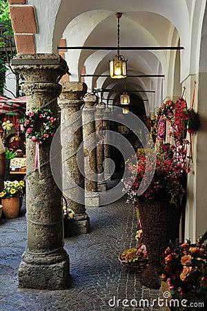 Passage near Getreidegasse in Salzburg, Austria