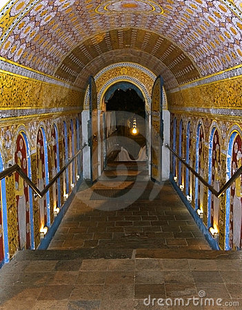 Passage out of Temple of the Tooth
