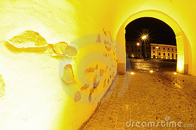 Passage in Sibiu