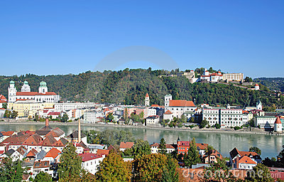 Passau in bavaria