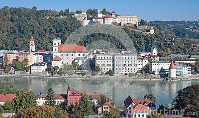 Passau,Bavaria,Germany