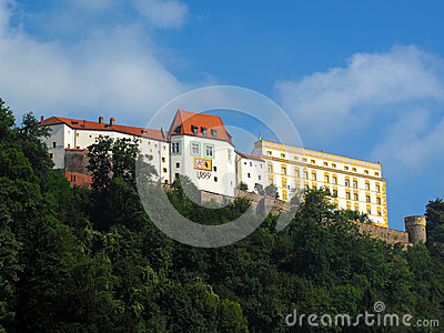 Passau Castle in Bavaria