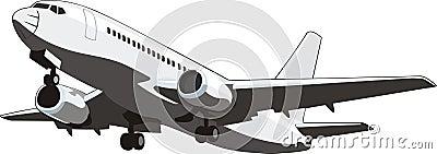 Passenger air plane