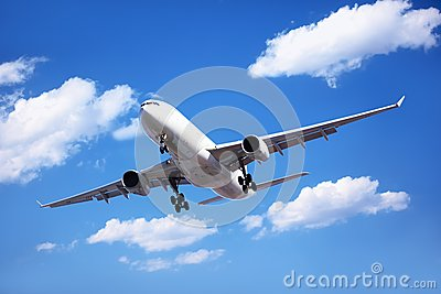 Passenger Airliner Arrival
