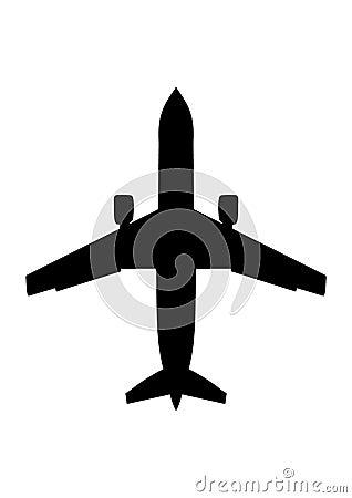 Passenger airplane