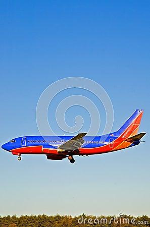 Passenger Airplane Landing - 2