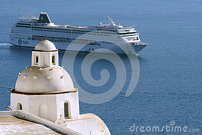 Passenger cruise ship Editorial Stock Photo