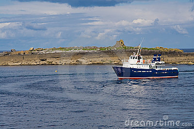 Passenger ferry at Doolin